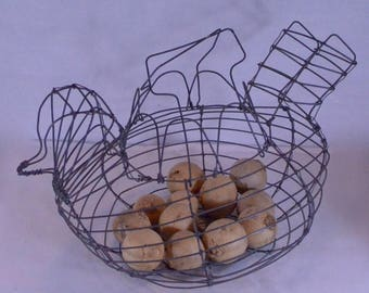 Vintage Egg Basket Nicely Made