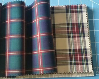 Plaid Fabric Sample Book