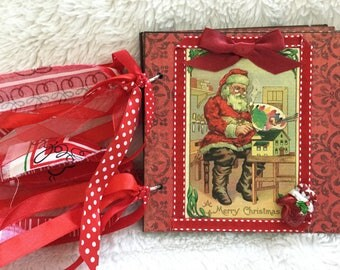 Vintage Christmas Album - Santa's Workshop # 671
