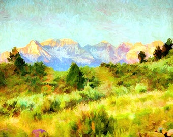 Whitehouse Peak - Colorado Spring - San Juan Mountains - Whitehouse Peak - - Colorado - San Juan Mountains - Sneffles