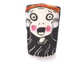 The Scream Funny Finger Puppet
