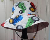 Reserved Listing, Toddler Bucket Hat, 3 Year Boy Sun Hat for Boys, Child Sun Hat