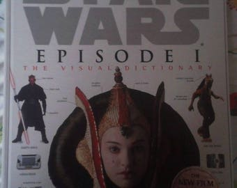 Star Wars book, Star Wars Episode 1 The Visual Dictionary