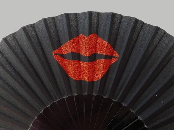 Sparkly Glitter Sparkle Kiss Lips 32cm XL