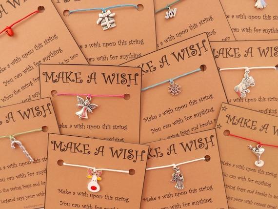 10 - 20 Christmas Themed Wish Bracelets