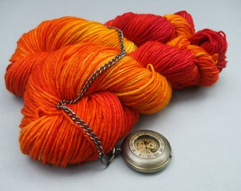 British Bluefaced Sport Weight. Maple, Maple Burning Bright