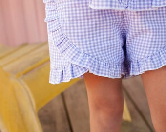 Petal Shorts, Spring Girl, Summer Days, Beach Shorts, Petal Ruffle Bloomers | Size 2 - 8 | Free Shipping