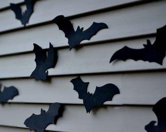 bat halloween decoration 16 bats reusable wall decoration waterproof indoor or outdoor halloween