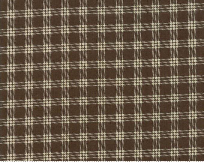 Lilac Ridge Earth Brown 2215 15 by Jan Patek for Moda Fabrics