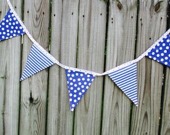 Baby Shower Flags - Gender Reveal Bunting - Nursery Decor