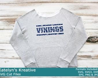 Vikings Distressed SVG Files