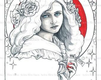 Alice Nouveau Original Painting