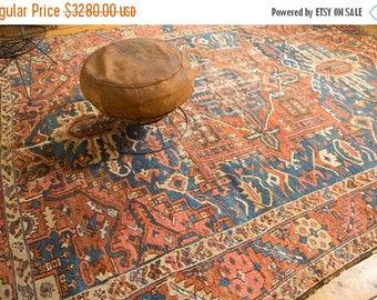 10% OFF RUGS 9x11.5 Antique Karaja Carpet
