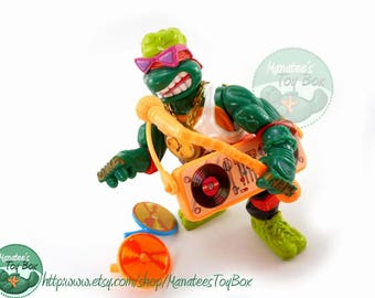 TMNT Action Figure: Rappin Mike Complete