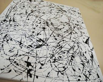 Rythm & Flux Original 24x30 Abstract Painting by PoseManikin