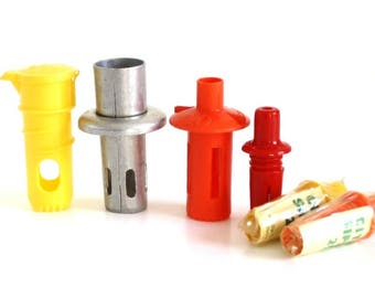 Plastic Citra Sipper, OJ Squeater, Sunkist Citrus Juicers, Acme Aluminum, Push In Citrus Juicers