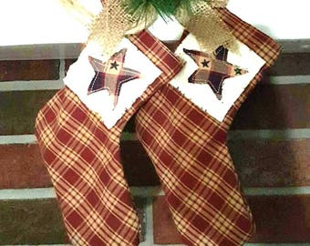 2 Primitive Americana Stockings