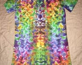 5120 Womens S/M L.A.T. V-Neck T-Dress 100% Cotton Double Sided