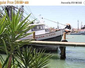 12% OFF Blood and Guts Shrimper Boat Artwork, Gulf Coast Shrimper Boat Artwork, Original Signed Photo of a Gulf Coast Shrimp Boat