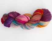 Wool Tricotcolor stained hand handdyedwool dyeing wool multicolor knit crochet haberdashery accessories creative multicolor fiber yarn