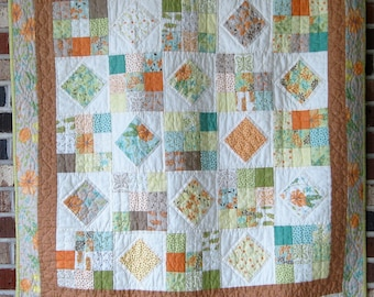 """Baby's First Quilt """"Summertime"""""""