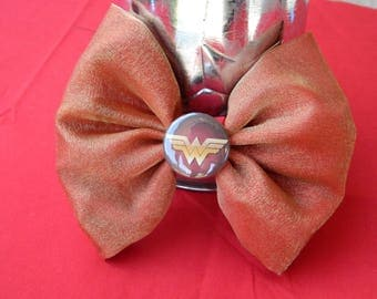 Wonder Woman inspired bow