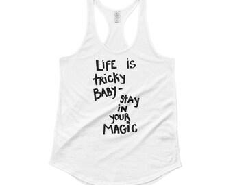 Yoga clothing, yoga shirt, t-shirt, mantra, spiritual shirt, gangsta rap, tee, women's clothing, women's shirts