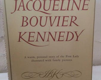 Jacaqueline Bouvier Kennedy hard cover with dust jacket  1961  By Mary Van Renssealer Thayer