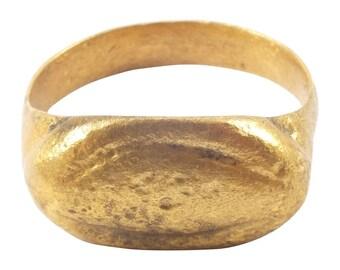Ancient Roman Mans Ring C.100-300A.D.  Size 11  (20.8mm) (brr1164)
