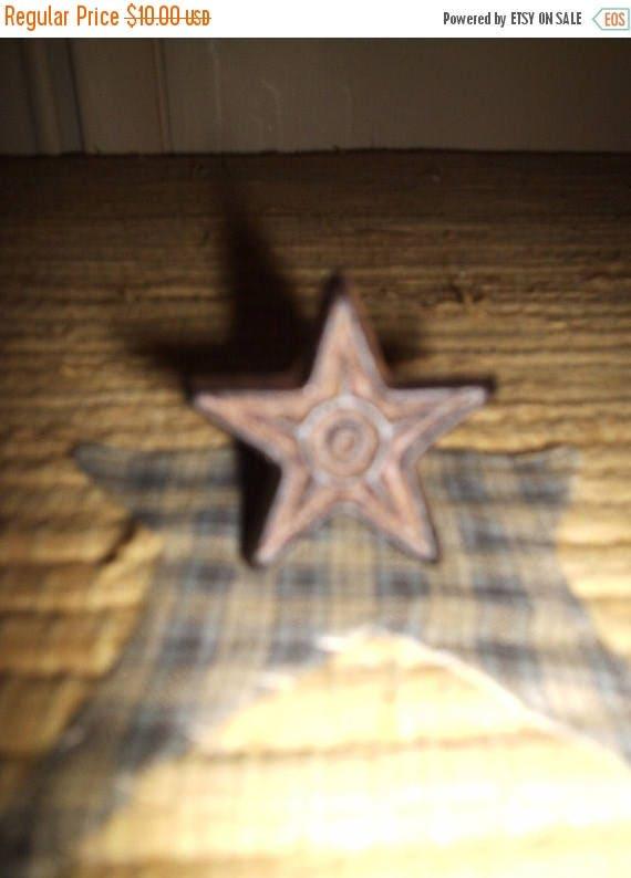 On Sale 2 Cast Iron Star Cabinet Knobs Drawer Pulls Primitive
