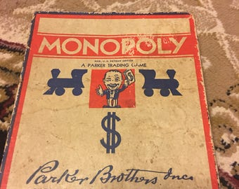 1930's Monopoly Game