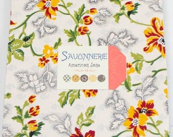 Savonnerie, fabric collection by American Jane for Moda Fabrics - 1 Layer Cake