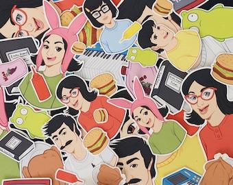 Bob's Burgers Sticker Pack - Small