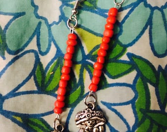 Mexicali blues Calavera Day of the dead earrings