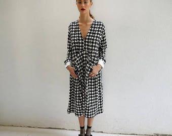 V neck  dress