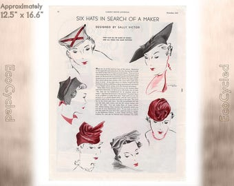 Ladies Home Journal 1935 Antique Magazine Ads Advertisements Antique Vintage Paper Ephemera ready to frame art print vintage ads z13