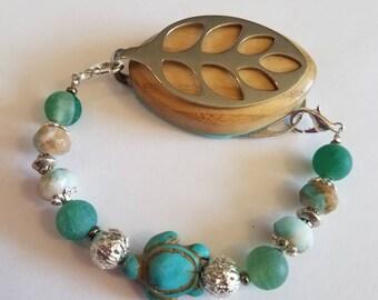 Bellabeat Leaf Turtle Bracelet