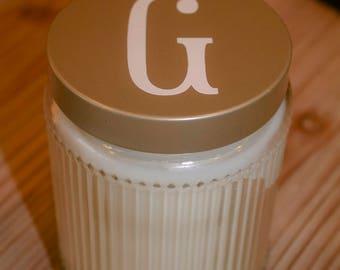 Monogrammed Candle - Monogrammed Wedding Gift - Wedding Shower Gift - Monogrammed Hostess Gift
