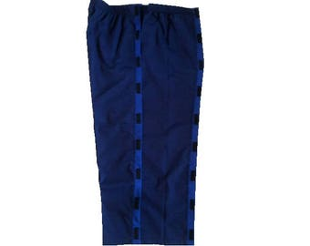 XL SIDE OPEN pants, Adaptive clothing, disabled clothes, incontenence, Disability pants, Velcro, Wheelchair, Geri chair, Diapers, Stroke