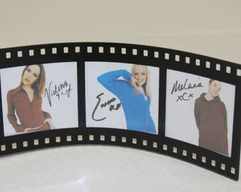 The Spice Girls Vintage Picture Frame- Small Size -Spice Movie -Original Pics-Label 1997 -baby spice nineties girl power-photos Home Decor