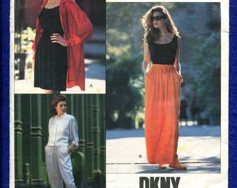 Vogue Pattern 2452 DKNY  Donna Karan New York Big Baggy Pants Size 18..20..22