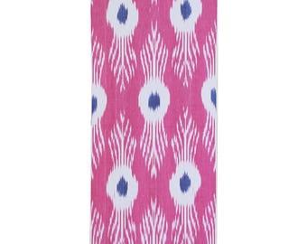 Sale! Ikat Fabric, Ikat Fabric by the yard, Hand Woven Fabric