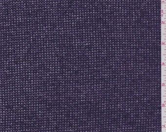 Amethyst Wool Blend Sweater Knit, Fabric By The Yard