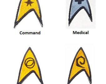Star Trek  Patches Pick N Choose