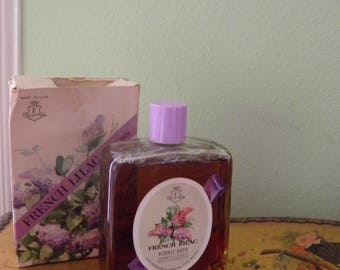 French Lilac Bubble Bath With original Box