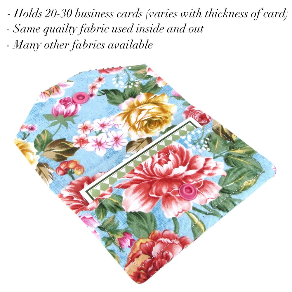 Custom Business Card Holder For Women, Cute Business Card Case ...