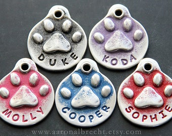 Funny Dog Tags for Dogs - Pet ID Tag - Custom Pet Tag - Dog ID Tag - Handmade - Name Tag Dogs - Cute Dog Tags - Personalized