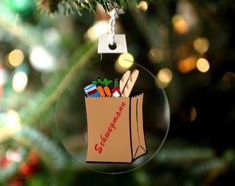 Schwegmann's Grocery Bag Ornament