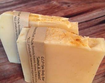 Lemon and Turmeric Spa Soap