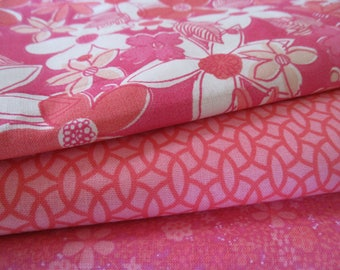 Quilting Fabric Bundle - Quilting Fabric by the Yard - 1/2 Yd Each - Total of 1.5 Yards
